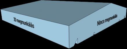 2D megmunkálású oszlop fedlap
